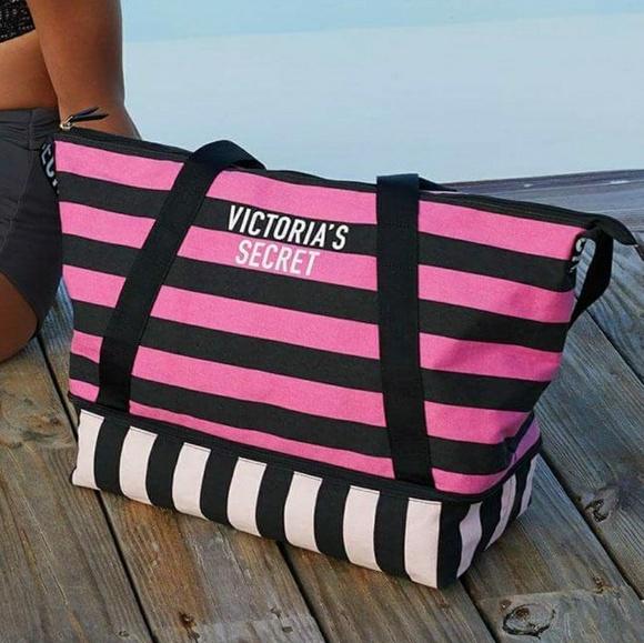 d8b187469d88 Victoria's Secret Weekender Tote Bag NWT